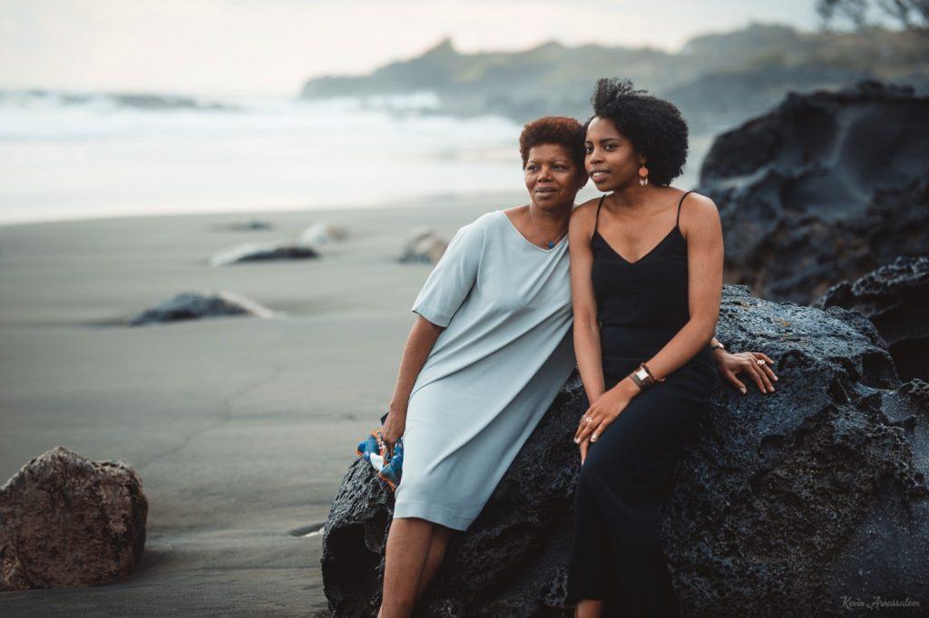 Photographe 974 - Shooting photo à la Réunion avec Julie et sa mère